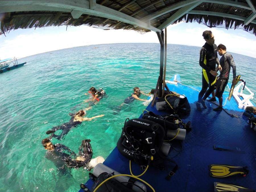 세부어학연수 세부스터디에서 영어공부와 스쿠바다이빙