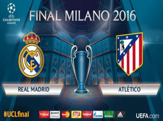 UEFA 챔피언스리그 결승전 레알 vs ATM 미리보기