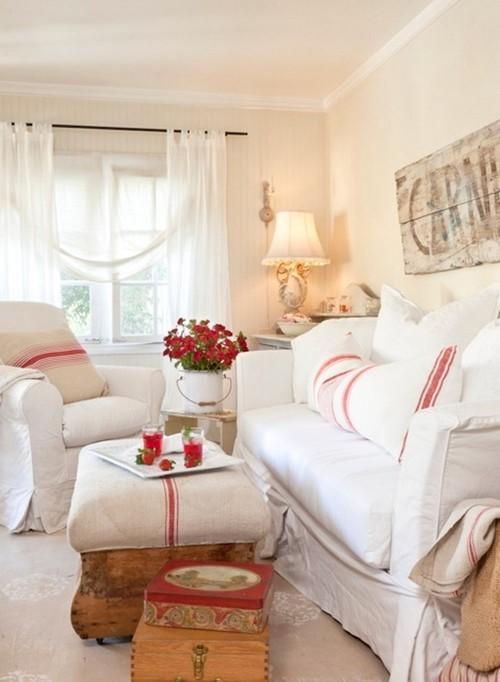 청결감 넘치는 거실 & 침실 화이트 인테리어 - 포스트