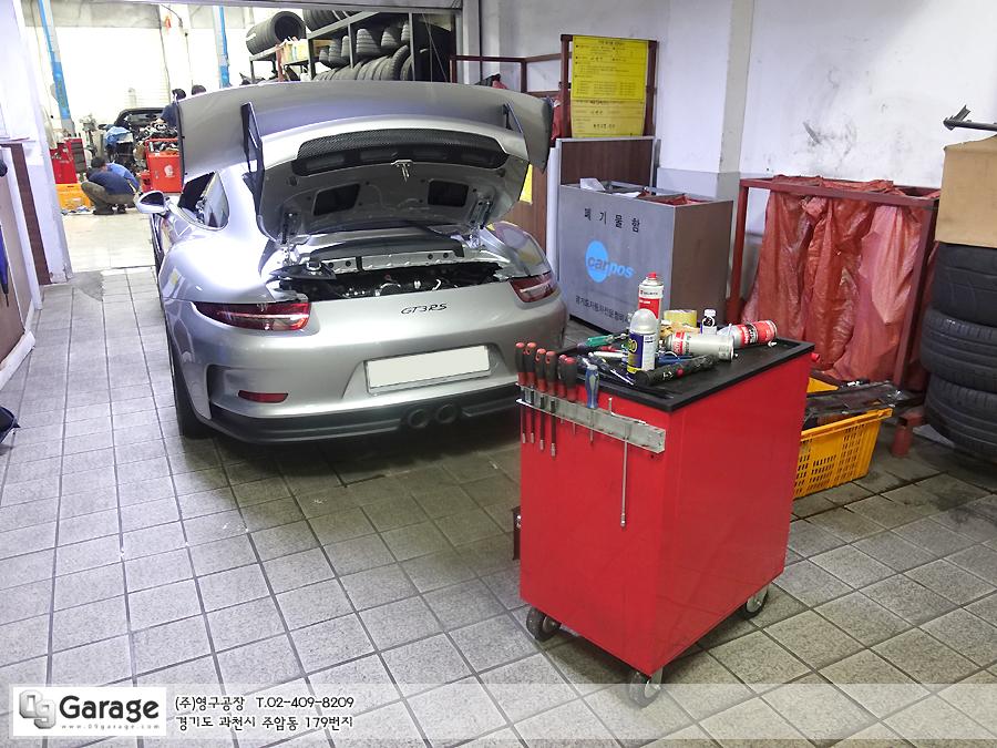 포르쉐 911 GT3RS 테크텍 ECU 맵핑 - 포스트
