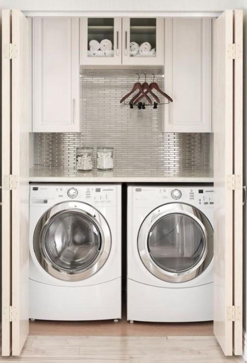 깔끔한 세탁실 인테리어자료 - 포스트