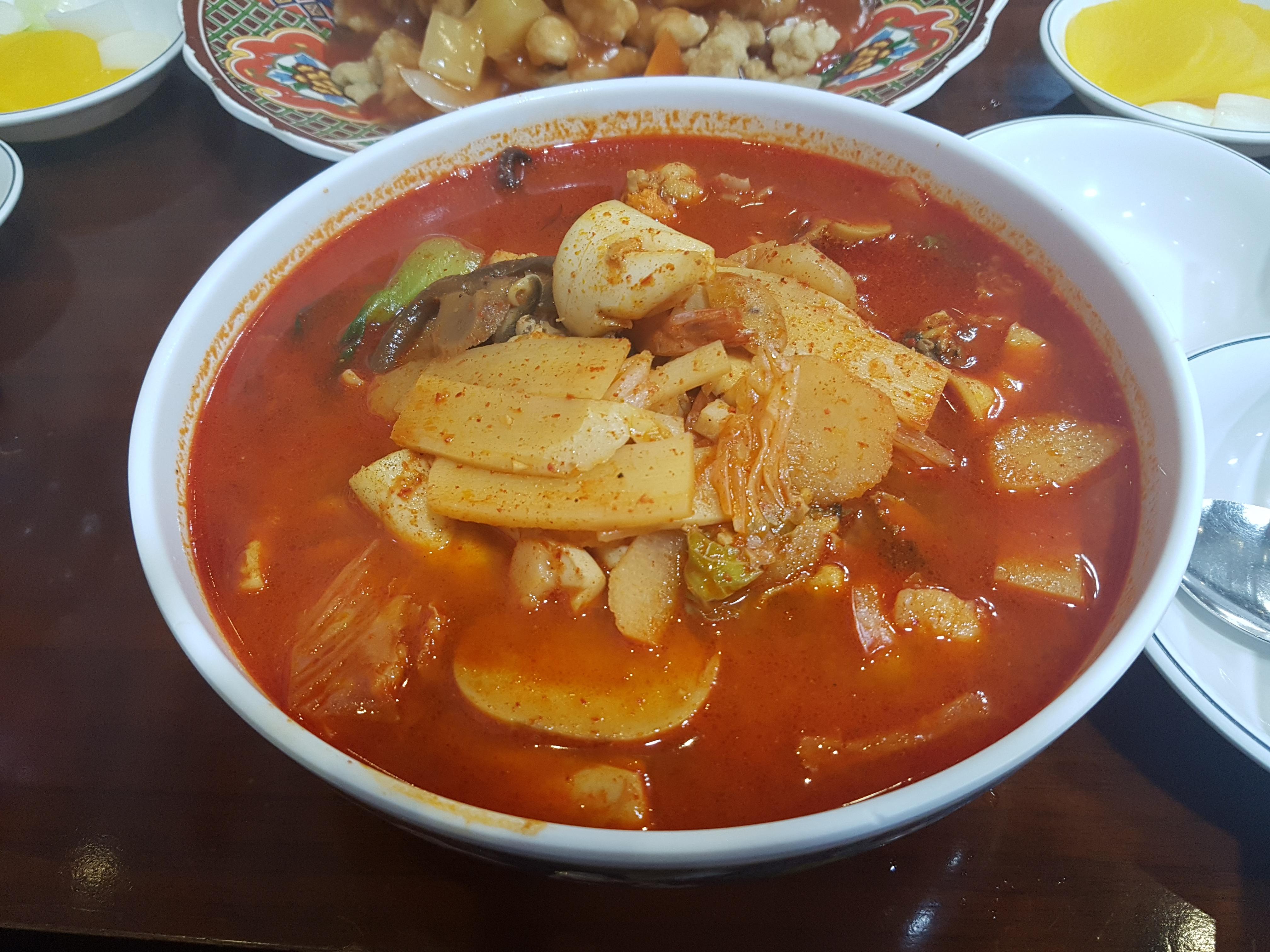 [영등포맛집/영등포역] 송죽장 / 고추짬뽕 / 고추짜장 / 60년 전통 / 영등포데이트