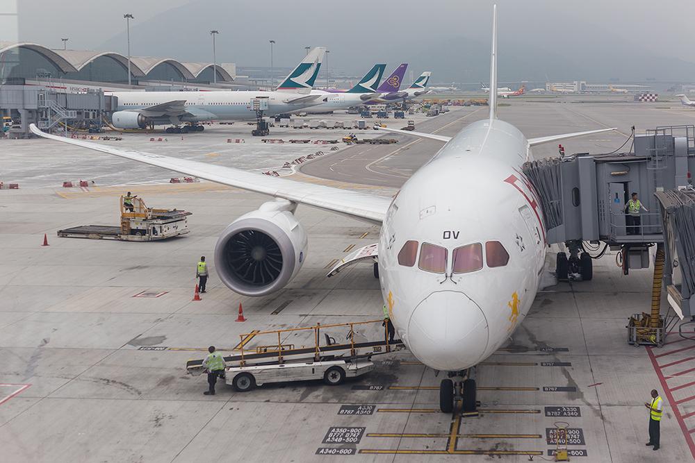 홍콩여행 에티오피아 항공 탑승기 스타얼라이언스 골드이용