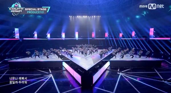 '프로듀스101 시즌2' 직캠 조회수 TOP 4