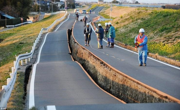 사상자 약 2만명을 만들어 낸동일본 대지진