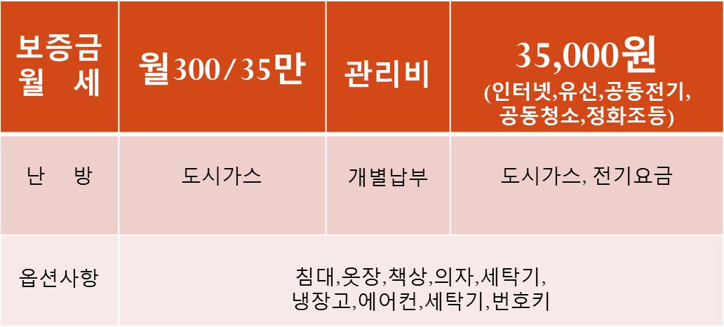 대전우송대원룸[300/35만]신축