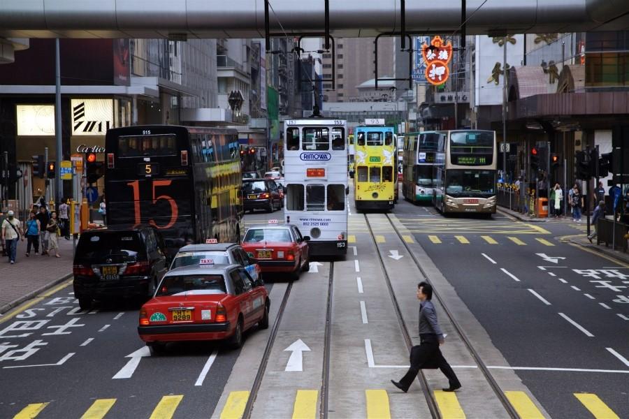 홍콩여행 택시이용 팁