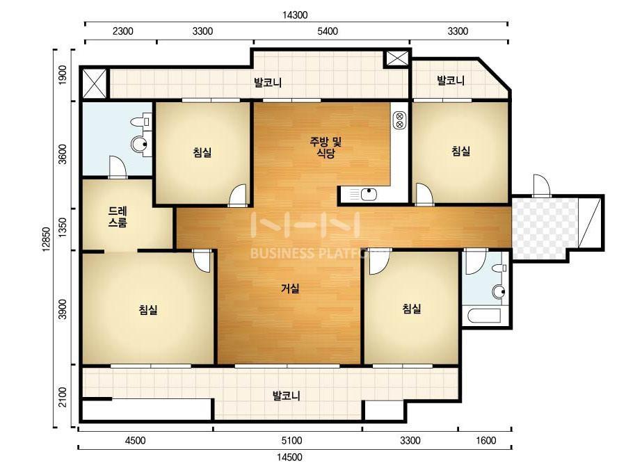 [인천인테리어] 간석동 래미안자이아파트 인테리어 - 바른인테리어