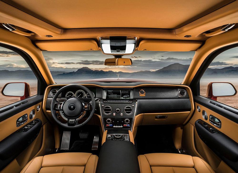 여행을 위한 사치품, 롤스로이스 최초의 SUV 컬리넌 공개