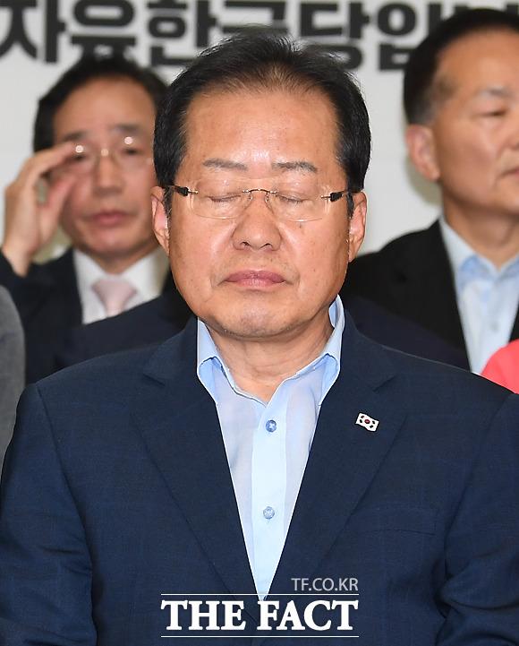 [6.13 지방선거] 한국당 '참패'…홍준표·지도부 사퇴 불가피