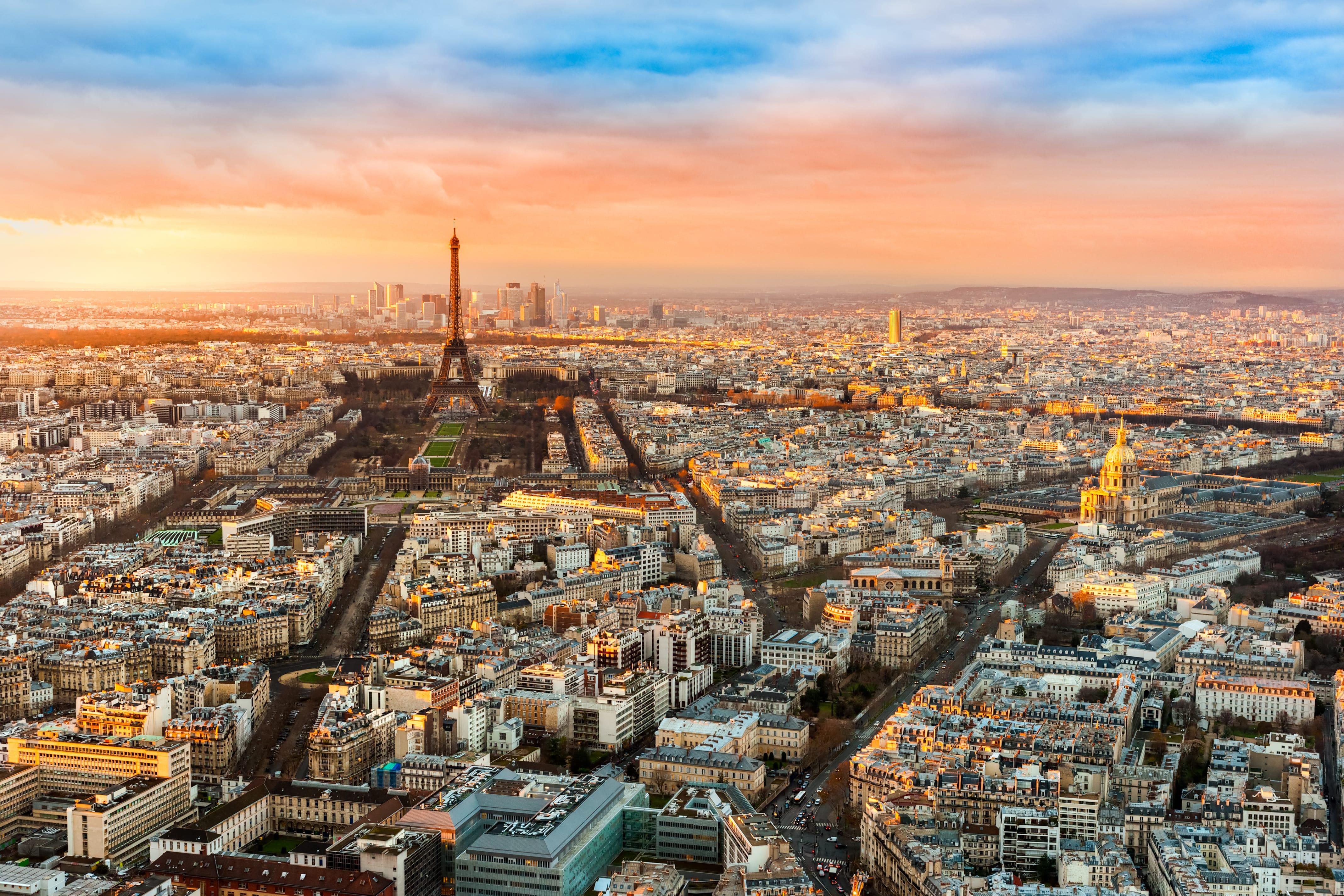 프랑스 파리 개선문 전망대 :: 야경 시간/입장료/위치