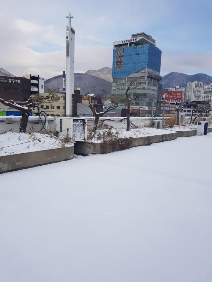 창원날씨 눈 내리는날!