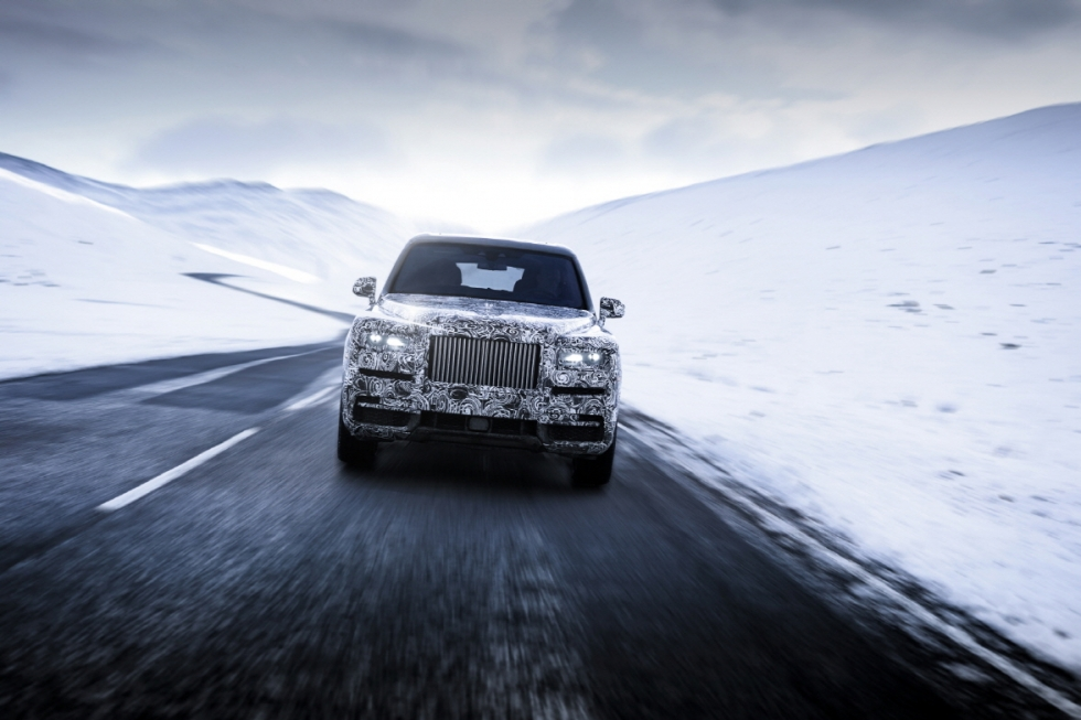 롤스로이스, 'SUV 끝판왕' 이름 '컬리넌'으로 확정…내년 출시