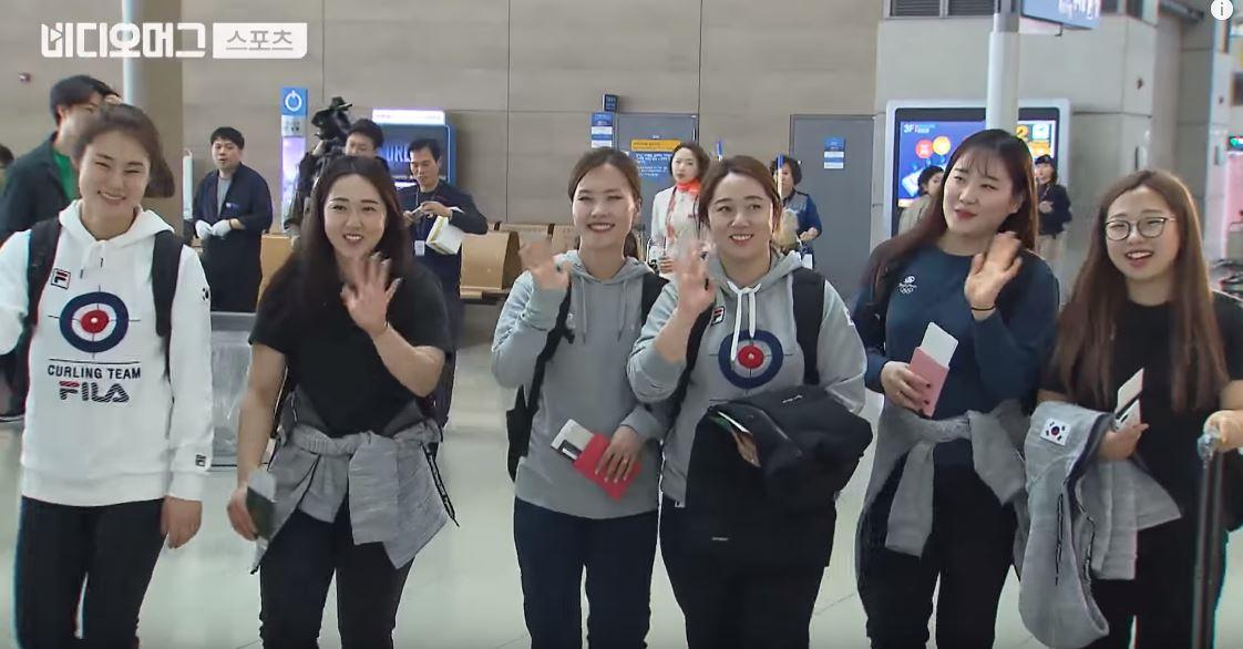 '팀킴'은 다시 달립니다, 세계 선수권대회는 우승까지 가즈아~!