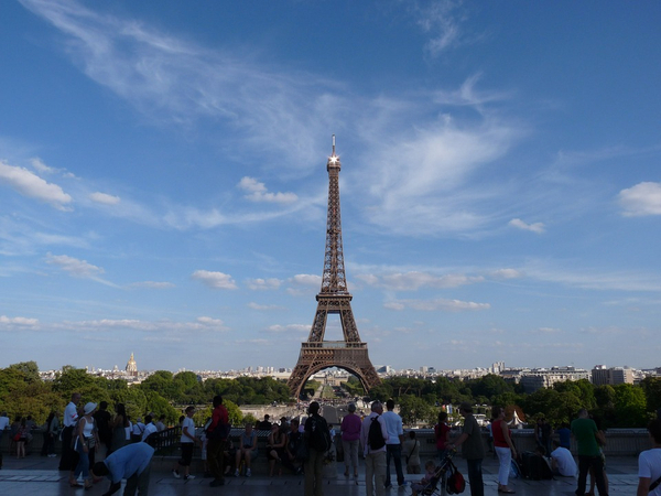 [파리 자유여행] 에펠탑 보기좋은 곳 BEST 3!