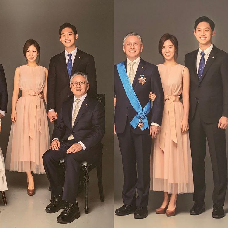함연지, 父 함영준 오뚜기 회장과 단란한 가족사진 공개