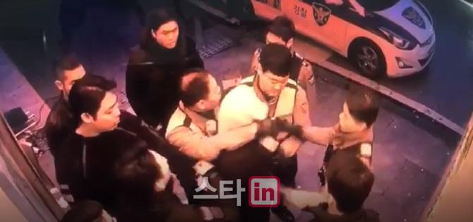 [단독] '버닝썬 사건' 반전될까...김씨, 경찰 폭행·추행 CCTV 입수(영상)