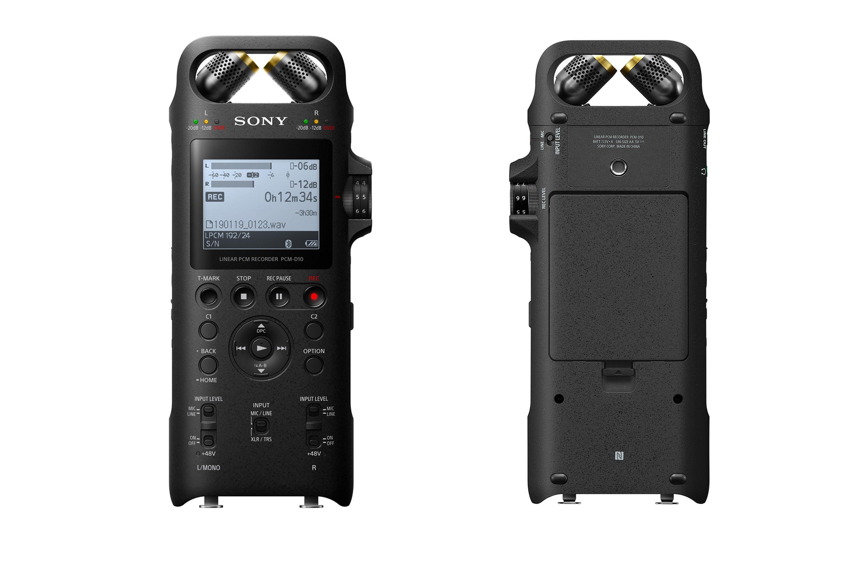 소니코리아, HRA 녹음 지원 프로페셔널 레코더 PCM-D10 출시 - 포스트