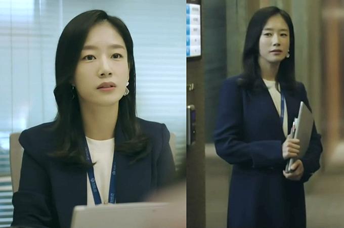 [그 옷 어디꺼] 'VIP' 곽선영, 스타일리시한 오피스룩! 네이비 재킷 어디꺼?