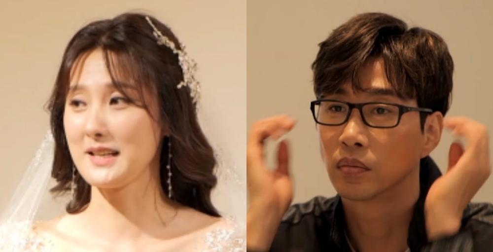 김세진, 아내 진혜지 웨딩드레스 자태에 대한 반응