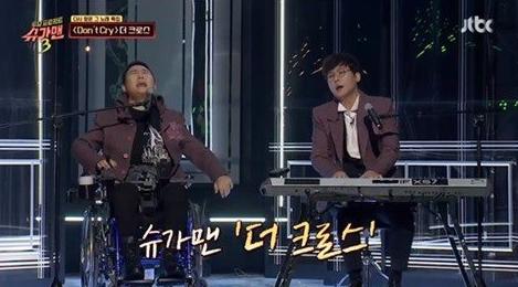 """[김혁건] 더 크로스 김혁건 """"17년 만에 무대에 섰다""""…아픈 몸 이끌고 슈가맨 출연."""