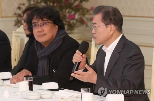 '기생충' 팀, 문재인 대통령과 '짜파구리' 오찬…김정숙 여사의 특별 레시피는?